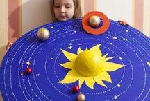 Kids - Solar System / Solar system, planets, kids crafts, stem, science for kids, stem activities