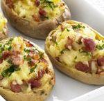 Home - Potato Recipes / Potato recipes, baked potatoes, potato casseroles, jacket potatoes, potato ideas, potato salads, potato and chicken