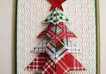 Kids - Christmas Card Crafts / DIY Christmas cards, DIY Christmas card ideas, DIY Christmas card inspiration, DIY Christmas card crafts, DIY Christmas kids cards