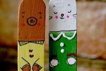 Kids - Lollipop Sticks Crafts / lollipop stick crafts for kids, easy lollipop stick crafts for kids popsicle sticks