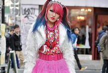"""Harajuku - Another style that fascinates me / Harajuku style originated among teens on the streets near Harajuku Station in Shibuya, Japan.  Like many """"street fashions"""" it is difficult to characterize because it is constantly changing and because it has many manifestations."""