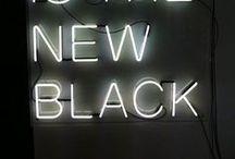 Veronika Maine | Black / black is the new black.