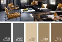 Dulux Color Pallets / Color combination for interior design