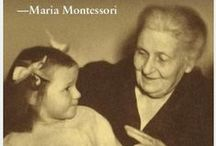 Montessori Quotes / Maria Montessori inspiration and quotes. Find Montessori inspiration on MontessoriByMom.com