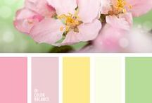 Colors for wedding inspiration / Wedding colors theme of inspiration and wedding planner