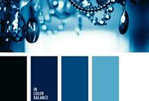 Monochrome Blue color inspiration / For all who love blue