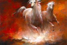 A  -  Horse Art / by T - 1  Marila Rademacher