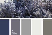 Color palettes that we love / Most adorable color palettes that we done