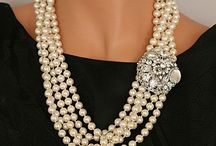 Pearls and bobbles / Beautiful pearls