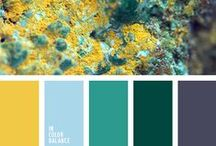 Mineral Color Mood / Color combination inspired by nature mineral stone. Color pallets, color palettes, color scheme, color inspiration.