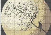 všehochuť - křížkové vyšívání / motivů pro křížkovou vyšívku