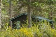 Affleck & Smithywood Lodges / Smart, cosy and comfortable inside; self catering accommodation for up to four people.