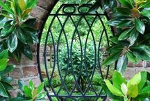 Garden....Wrought Iron & Steel