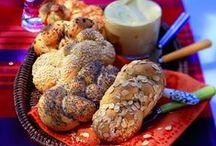 """Brot & Brötchen / Brötchen für die Party oder für den Grillabend, leckere Frühstücksbrötchen, zartes Haferbrot oder einfach ein """"Kerniges Haferflocken-Brot"""".  Für jeden Geschmack und Anlass ist etwas dabei."""