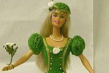 pletení a háčkování nápady pro panenky / ukázek výrobků pro panenku