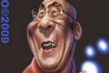 ♦ Celebrity caricatures ♦