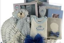 Baby Gift Baskets 2017 / All New Baby Gift Baskets for baby boys and baby girls. Unique baby gift baskets containing high quality baby gifts for new baby and new parents. First birthday gift baskets available too!
