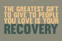 Recovery / The road to recovery from addiction.