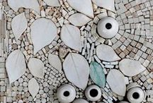 Mosaics.... All white & mirror
