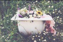 pick me a flower // / love in my eyes & flowers everywhere //