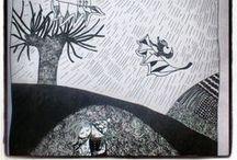 illustration, patterns, design, street art, my works