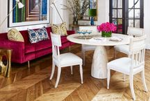Dine On / To-die-for dining rooms and cozy kitchen tables in every style
