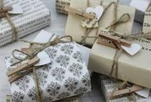 Wrap Artists / Pretty paper, lots of ribbon, cute tags...theses are the things that make our heart skip a beat...or two.  We love a pretty wrapped package, cause that's half the fun.
