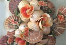 Bouquets of Shell Flowers