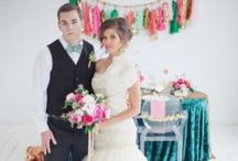 Ruffled Wedding Blog Feature: Emerald and Pink / by Studio Mucci