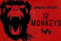 <3 12 Monkeys / Mostly the TV show but bit of the original movie / by Júlía Garðarsdóttir
