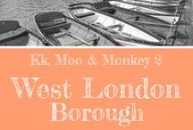 West London Borough / Ideas of things to do and places to go around the West London borough including Brent, Ealing, Hammersmith and Fulham, Harrow, Richmond upon Thames, Hillingdon, Hounslow