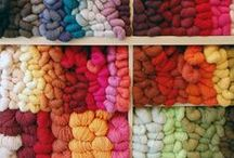 knitting and yarn / by Jan Schindler