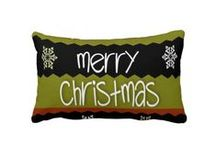 Christmas Pattern Pillows / Beautiful Christmas patterns adorn these pillows for the season.  See my holiday gifts on my Zazzle Store. http://www.zazzle.com/diamond_willow