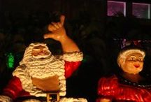 Christmas in Hawaii / City Lights Christmas display in downtown Honolulu.