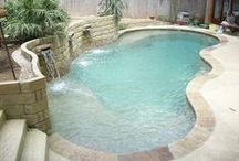 Awesome Pools / Swimming pool designs for small and big pools / by Franny Jane
