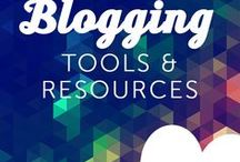 Blogging Tips & Tools / Blogging tips for beginners. Tools you need to run a successful blog and make money.