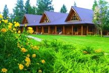 Three Bars Ranch / Three Bars Ranch is a great choice for family vacations and multi-sport riding holidays in British Columbia, Canada
