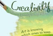 Art & Creativity / When you need to feel inspired and want to unleash your creative self. Digital and real life projects! / by Fabulous Blogging