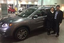 Happy Customers / Pictures of our happy customers with their new Nissan vehicles