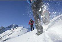 snowshoe hiking im Ötztal /  Schneeschuhwandern