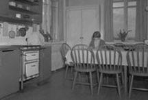 40-50 -luvun talot ja huonekalut