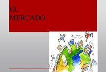 INTERCAMBIO Y MERCADO / 1.EL MERCADO Y SUS ELEMENTOS. 2.LA DEMANDA Y LA OFERTA 3.EQUILIBRIO DE MERCADO 4.TIPOS DE MERCADO