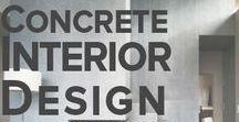 Concrete Interior Design inspiration