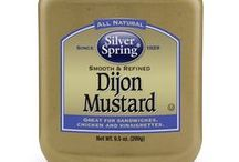 Dijon Mustard / Reminiscent of the original recipes of Dijon, France, our spin on Dijon Mustard blends the flavors of white wine and mustard seed into a gourmet spark for any meal. The smooth creamy texture makes our Dijon Mustard perfect to spread freely as a condiment or mix boldly as an ingredient GIVEITZING™