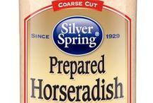 Prepared Horseradish / #SilverSpringFoods #PPHR @SilvSprngFoods / by Silver Spring Foods, Inc.