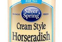 Cream Style Horseradish / #SilverSpringFoods #CreamStyleHR @SilvSprngFoods / by Silver Spring Foods, Inc.