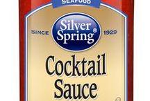 Seafood Cocktail Sauce / #SilverSpringFoods #SeafoodCocktailSauce @SilvSprngFoods / by Silver Spring Foods, Inc.