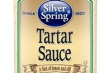 Tartar Sauce / Dress your seafood for any occasion with Silver Spring tartar sauce, a creamy, tangy blend of salad dressing, tart pickle relish, and horseradish. Its bright flavor brings out the best in your grilled or baked fish or your favorite crab cakes. Ever tried dipping fresh veggies into tartar sauce? You'll want to try it with ours. And with its hint of kick from our farm-fresh horseradish, this tartar sauce also makes the perfect complement for French fries, onion rings, and calamari. GIVEITZING™
