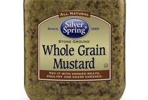 Whole Grain Mustard / @SilvSprngFoods #SilverSpringFoods #WholeGrainMustard / by Silver Spring Foods, Inc.