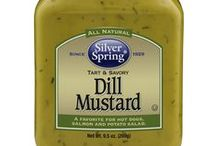Dill Mustard / We added dill to the tangy tradition of yellow mustard to bring you closer to the flavors of Scandanavia. it's an easy add to picnic favorites like salads and hot dogs, or a special ingredient that takes your fish dish to a whole new continent. GIVEITZING™